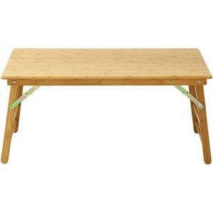 Bamboo Rectangular Folding Coffee Table