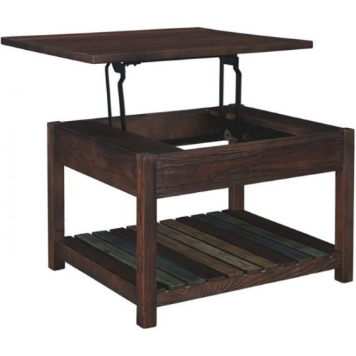 Lift Top Coffee Table with Storage 3