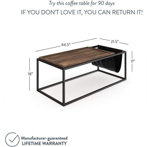 Modern Coffee Table with Storage 1