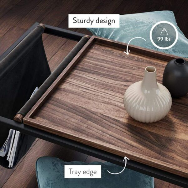 Modern Coffee Table with Storage 4