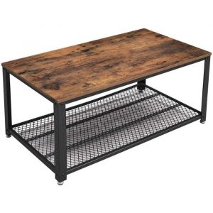 VASAGLE Coffee Table with Storage