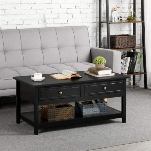 Yaheetech Coffee Table with Storage