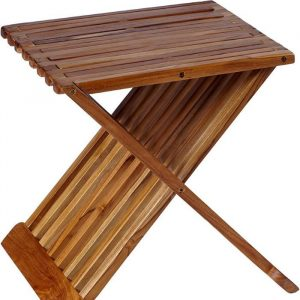 "15"" Teak Boutique - Best Folding Coffee Table 2"