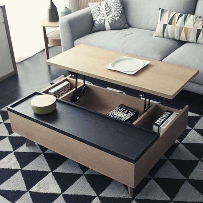 multifunctional foldable coffee table