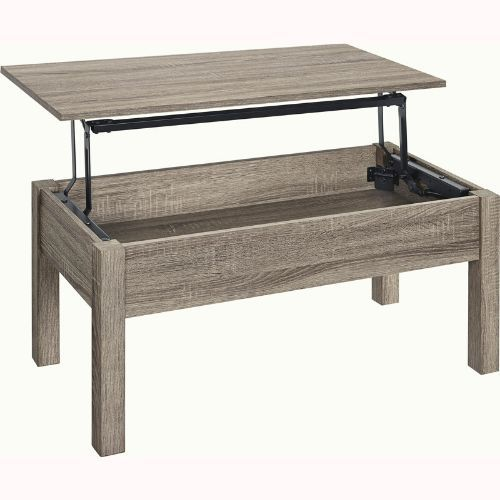 Ameriwood Home Parsons Lift Top Coffee Table